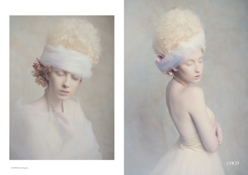 Makeup for Coco Fashion Magazine.