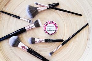 LGFB makeup brush launch_wedding makeup