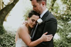 eva and brad's wedding makeup