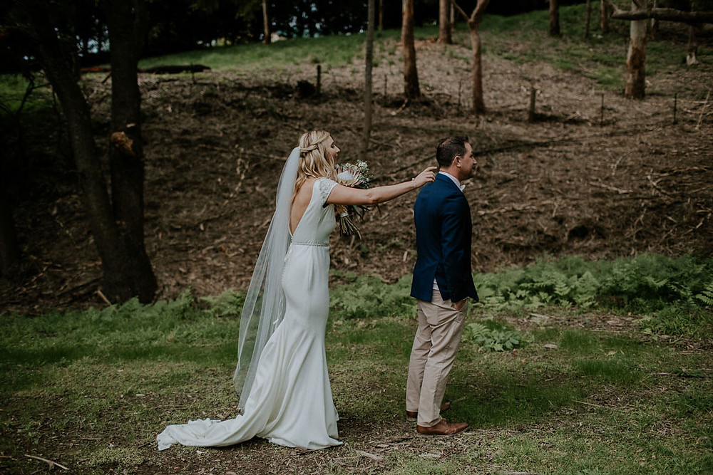southern highlands wedding bride and groom