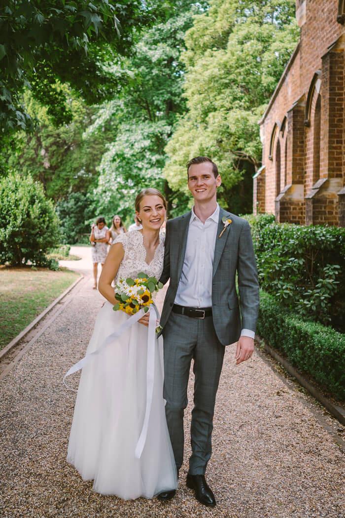 Bride and Groom - Southern Highlands Wedding