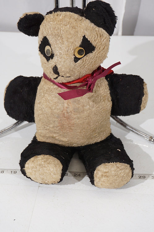 Early 1900s Stuffed Panda Bear