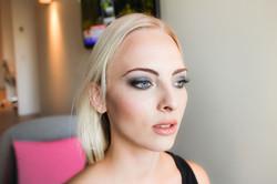 Soft bridal makeup - fashion week