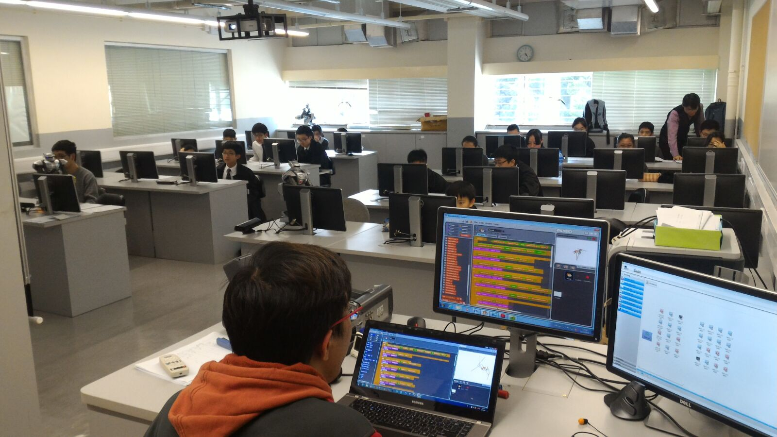 Robot Workshop@ Tseung Kwan O Govern