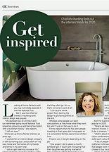 Coastal bathroom featured in etc magazine