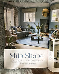 Emma Painter Interiors in Hampshire Life - personal touches that make your house your home