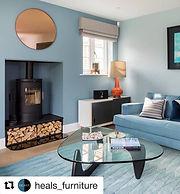 Emma Painter Interiors Coastal Living Room