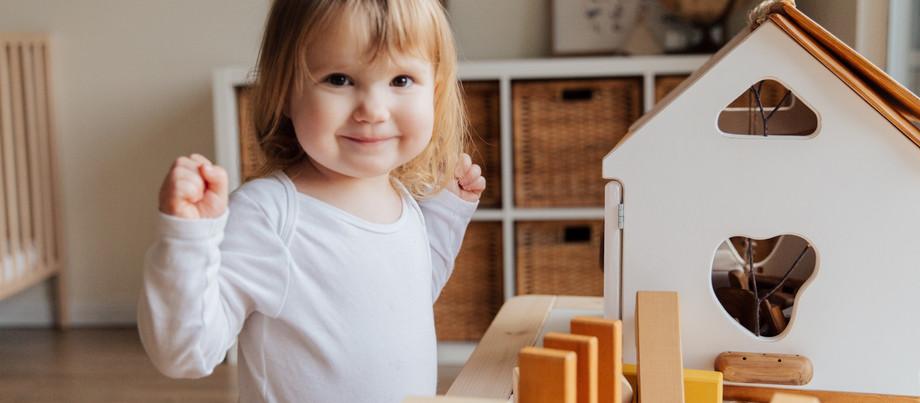 O entrelace do lar e o desenvolvimento infantil.