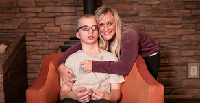 Derek Lyons and Melissa Shurack - A mother's love: raising a child with a disability.
