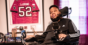 Eric LeGrand - BYOC; Finding purpose off the field