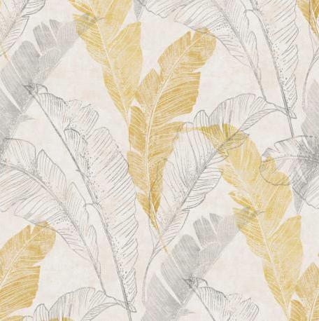 palme gris jaune