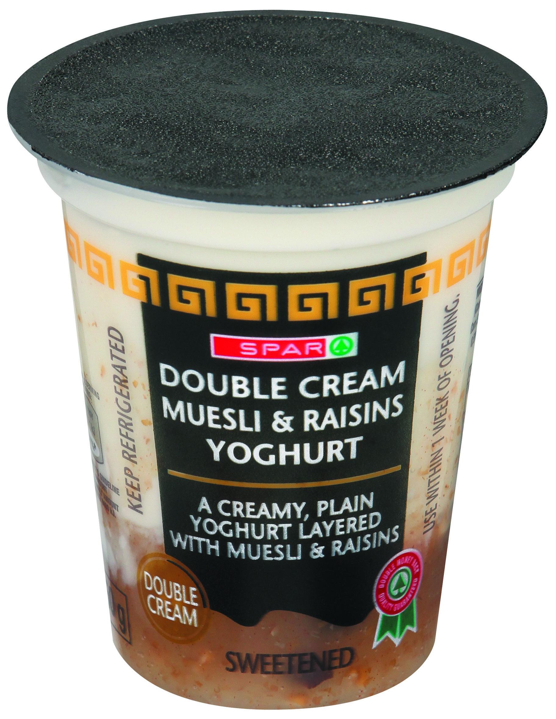 Muesil & Raisin Yoghurt