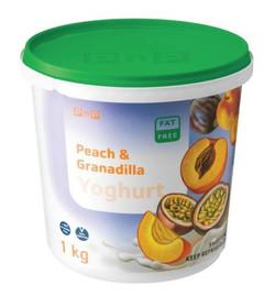Peach & Granadilla Yoghurt