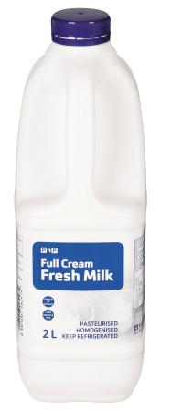 PnP Full Cream Milk 2l