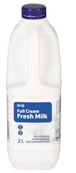 PnP Full Cream Milk 2l