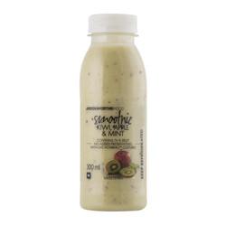 Kiwi-Apple Mint smoothie