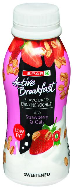 Strawberry & Oats Drinking Yoghurt