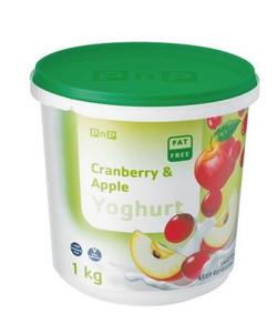 Cranberry & Apple Yoghurt