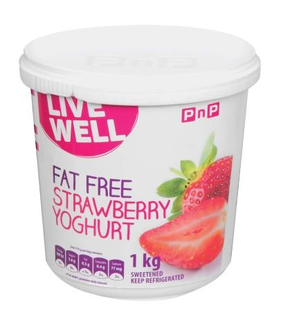 Fat Free Strawberry Yoghurt