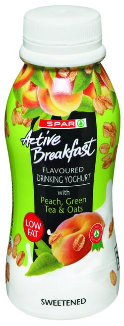 Peach/Greentea/Oats drinking Yoghurt