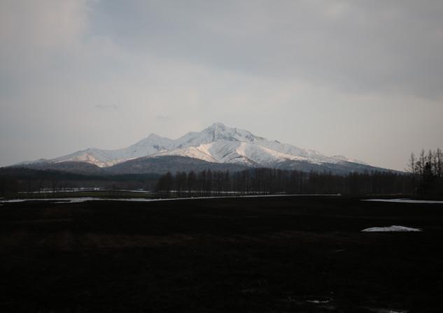 斜里町のシンボル斜里岳
