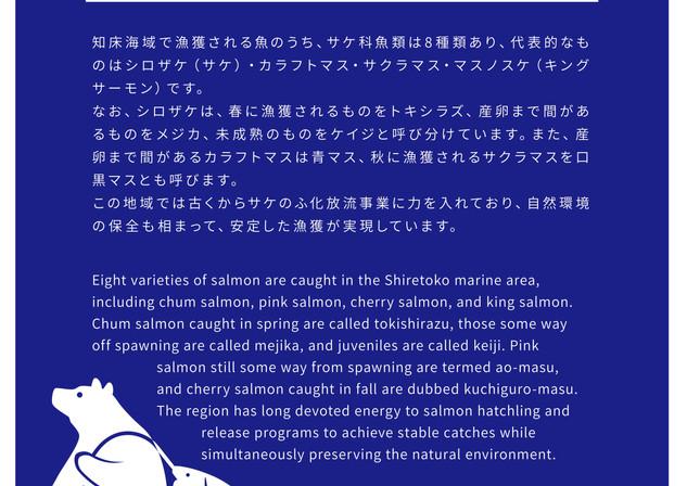 ウトロ鮭テラスで、なるほど ! 知床の鮭