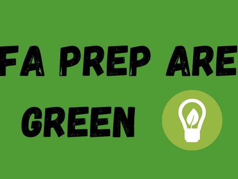 FA Prep UK Are Green