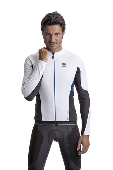 Long Sleeve Jersey Comp White