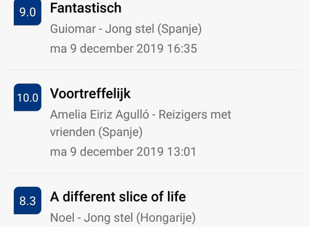 Reviews verblijven december