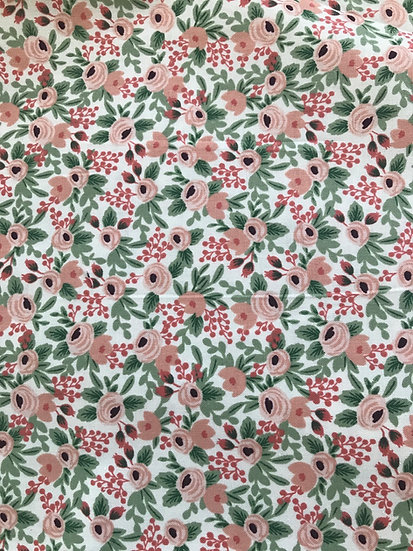 Rifle Paper les fleurs sage/pink Olson (fitted) style
