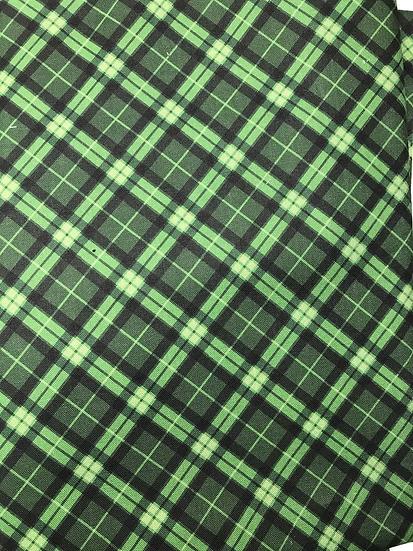 151.  Green plaid (Olson style)