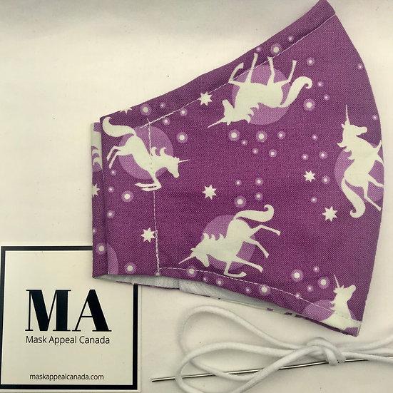 35. GLOW purple unicorns