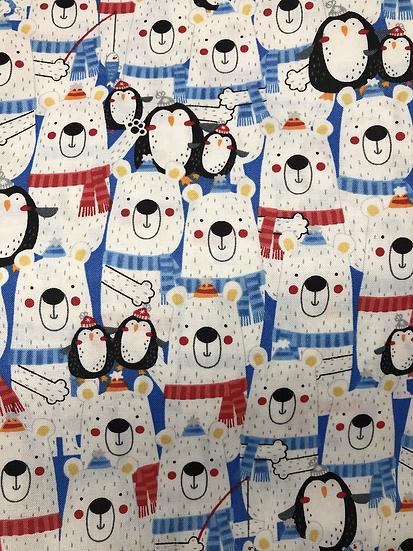154. Penguins & polar bears (Olson style