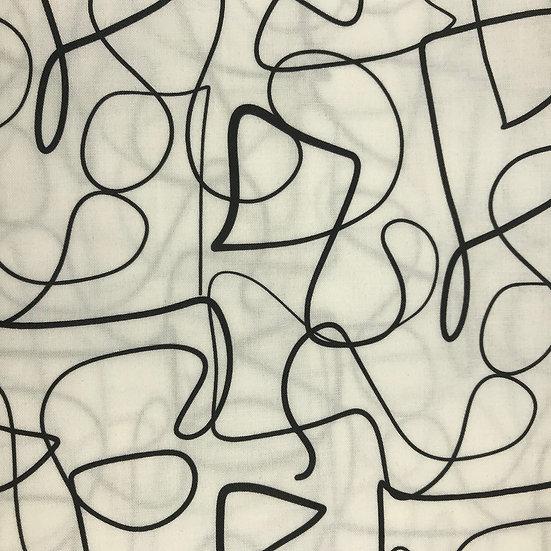 96. Doodles Black & white