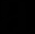 Camille Gentil, graphiste et photographe, a réalisé le logo d'Axel Van Colen, cavalier de cso professionnel de CSO. Ici le sigle, pour des supports tels que les bonnets.
