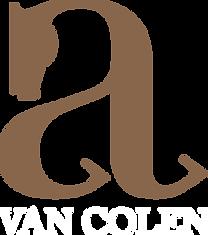 Camille Gentil, graphiste et photographe, a réalisé le logo d'Axel Van Colen, cavalier de cso professionnel de CSO.