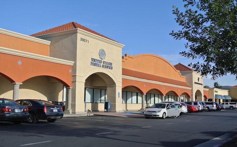 Murrieta Gateway: 140,000 sq. ft. USPS Anchored Shopping Center in Murrieta, CA