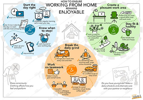 How to ensure working from home remains enjoyable - download link