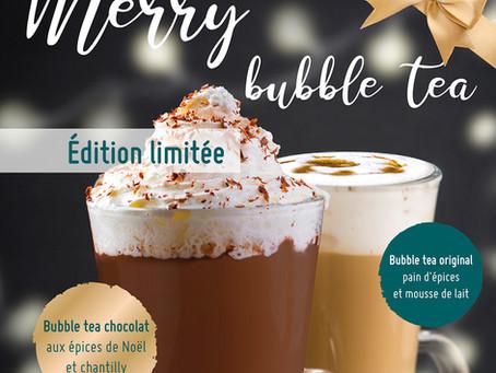 Merry bubble tea !