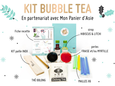 Kit Bubble Tea de Noël