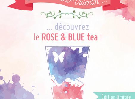 NOUVEAU // Le ROSE&BLUE tea - Édition limitée !