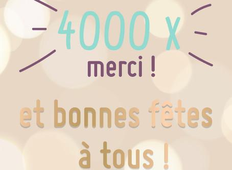4000 x MERCI !