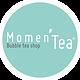 logo momen'tea