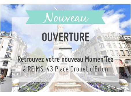 Ouverture d'un Momen'Tea à Reims !