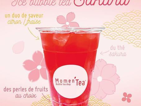 Le Ice Bubble Tea SAKURA est arrivé ! 🌸