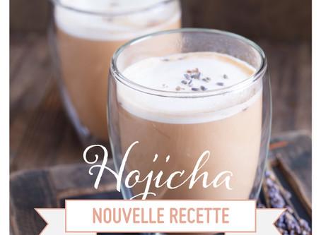 Thé Hojicha, NOUVELLE RECETTE !