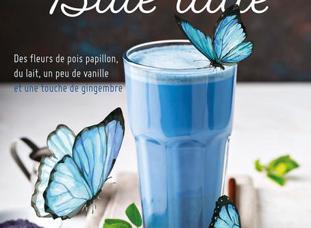 BLUE LATTE : le bubble tea du moment