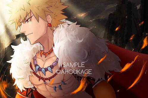 Dragon King Bakugou Print