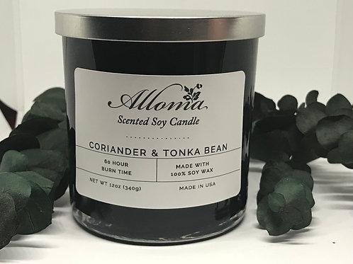 Coriander & Tonka Bean Candle (12oz)