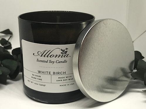 White Birch Candle (12oz)